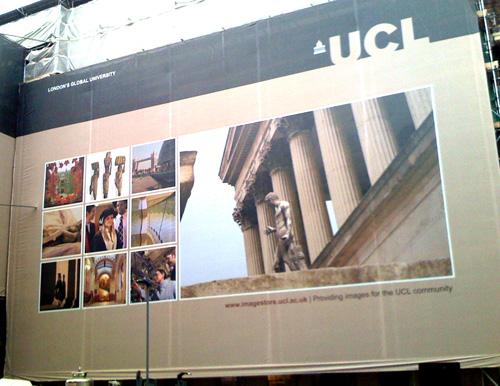 UCL Imagestore advert